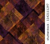 seamless pattern patchwork... | Shutterstock . vector #1142111297