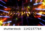 abstract kaleidoscope gold... | Shutterstock . vector #1142157764