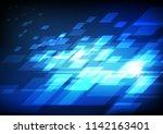 vector   abstract paralleograms ... | Shutterstock .eps vector #1142163401