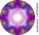 vibrant eastern meditation...   Shutterstock . vector #1142198444