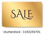 gift card  gift card discount   ... | Shutterstock .eps vector #1142256701