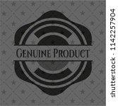 genuine product black badge | Shutterstock .eps vector #1142257904