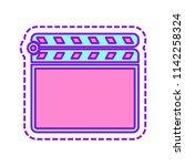 film clap board cinema close...