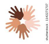 international friendship day...   Shutterstock .eps vector #1142271737