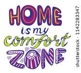 huge home lettering   Shutterstock .eps vector #1142283347