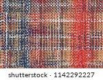 geometrical  elegant tweed ... | Shutterstock . vector #1142292227