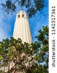 san francisco  california  low... | Shutterstock . vector #1142317361