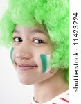 teenager as italy fan   Shutterstock . vector #11423224
