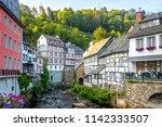 monschau  eifel  germany  | Shutterstock . vector #1142333507