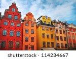 Stortorget Place In Gamla Stan...