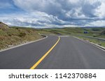 wild field highway  | Shutterstock . vector #1142370884