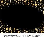 gold stars background vector | Shutterstock .eps vector #1142416304