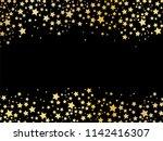 gold stars background vector | Shutterstock .eps vector #1142416307