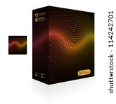 vector packaging box. abstract... | Shutterstock .eps vector #114242701