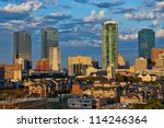 Cityscape Of Fort Worth Texas...