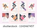 cover design template for... | Shutterstock .eps vector #1142467457