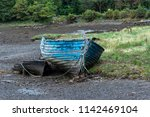 An Old Rowboat  Abandoned On...