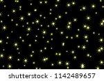 star pattern. glittering wave.... | Shutterstock .eps vector #1142489657