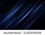 abstract blue background with... | Shutterstock . vector #1142494244