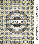 glamour arabesque emblem...   Shutterstock .eps vector #1142511221