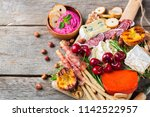 still life  food and drink ... | Shutterstock . vector #1142522957