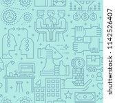 business seamless vector... | Shutterstock .eps vector #1142526407