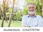 portrait of healthy happy smile ... | Shutterstock . vector #1142570744
