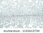 silver background abstract... | Shutterstock . vector #1142613734