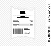 paying bill. flat icon | Shutterstock .eps vector #1142614094