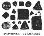 set of vector isolated hand... | Shutterstock .eps vector #1142643581