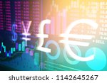Stock Exchange Graphs And Rate...