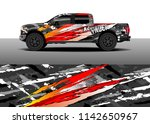 truck and vehicle graphic decal ...   Shutterstock .eps vector #1142650967