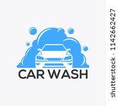 the car wash logo | Shutterstock .eps vector #1142662427