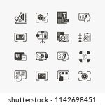 idea icon set and branding with ...