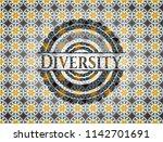 diversity arabic badge...   Shutterstock .eps vector #1142701691