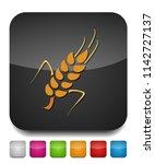 gluten free icon  gluten free... | Shutterstock .eps vector #1142727137