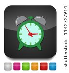clock icon  vector alarm icon ... | Shutterstock .eps vector #1142727914