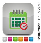 calendar appointment icon | Shutterstock .eps vector #1142727971