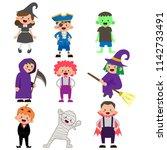 Illustration Of Kids Character...
