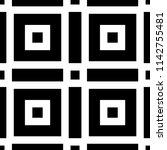 art deco pattern. seamless...   Shutterstock .eps vector #1142755481