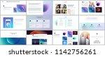 minimal presentations ... | Shutterstock .eps vector #1142756261