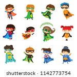cartoon vector illustrations of ... | Shutterstock .eps vector #1142773754