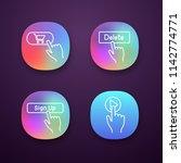 click app icons set. buy ...