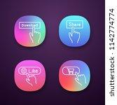 click app icons set. download ...