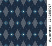 argyle pattern. simple... | Shutterstock . vector #1142805017
