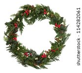 Christmas Decorative Wreath Of...