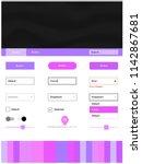 light purple  pink vector style ...