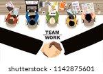 flat design illustration... | Shutterstock .eps vector #1142875601