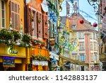 colmar  france   december 2017... | Shutterstock . vector #1142883137