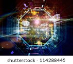 virtual construction series. ... | Shutterstock . vector #114288445